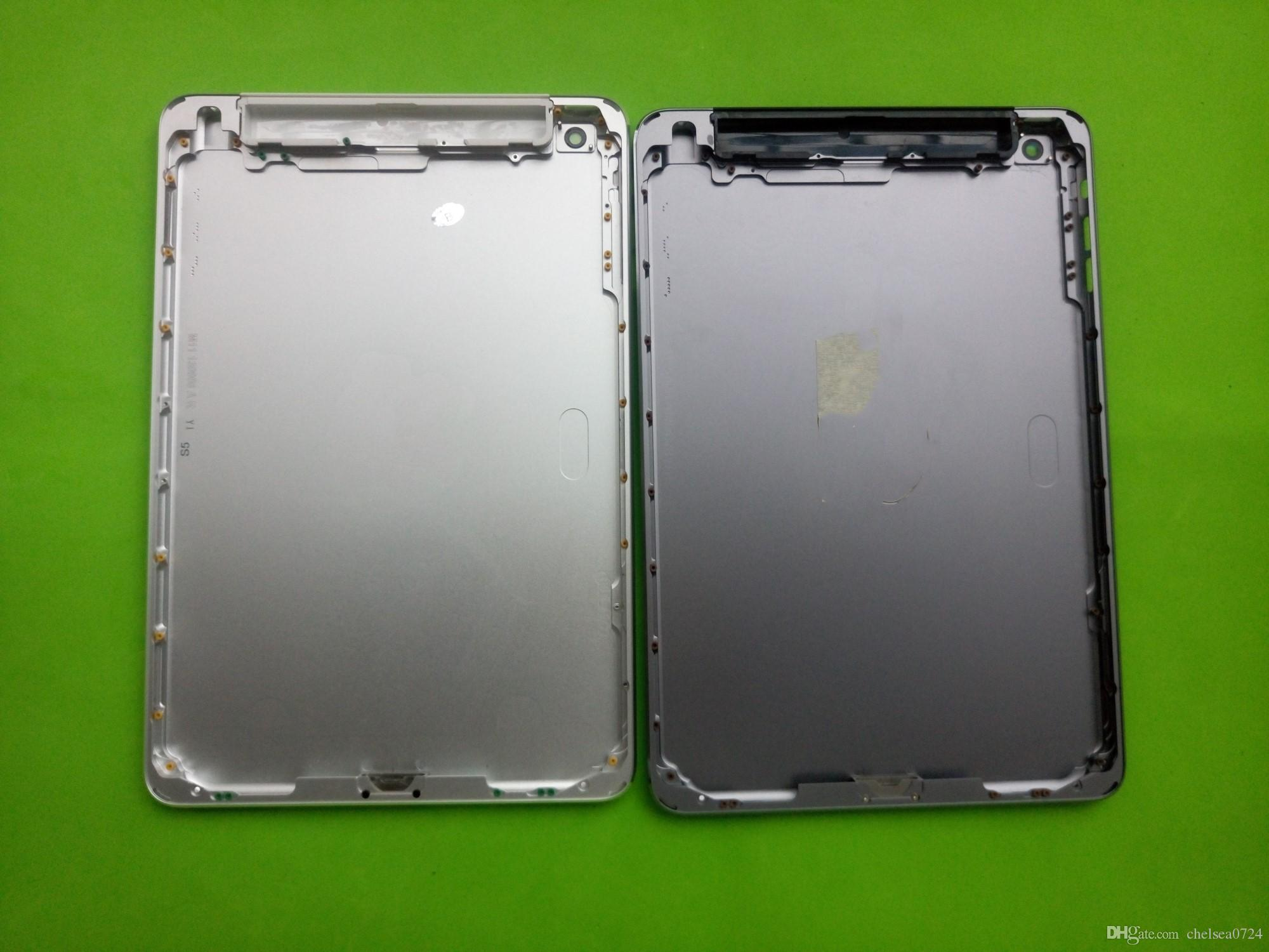Brand New For ipad Mini 1 WiFi+CELLULAR 3G 4G Version A1454 A1455 Rear Housing Back Cover Frame Battery Door Bezel Case With Logo