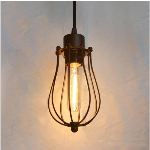Led pendant light edison light bulb loft american country pendant lamp lighting industry vintage iron lamps for home pendant lights pendant lamps vintage