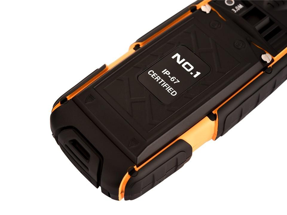 Original NO.1 a9 IP67 Waterproof shockproof Dual SIM Card mobile cell phone 4800mAh battery FM flashlight Can support the TF card