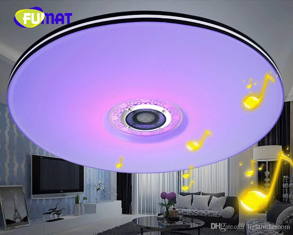 2018 FUMAT LED Ceiling Light Modern RGB Living Room 32W ...