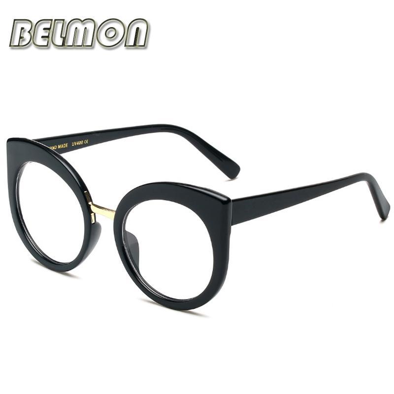 65434d444c8 Wholesale- Fashion Eyeglasses Frame Women Computer Myopia Optical ...