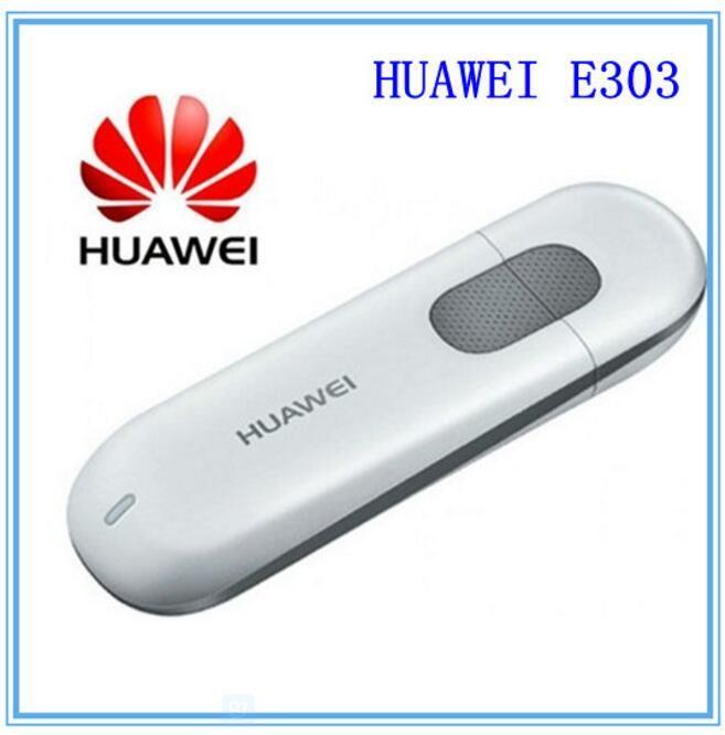 free shipping Unlocked 7 2Mbps HSDPA HUAWEI E303 3G HSDPA USB Modem Support  2100Mhz