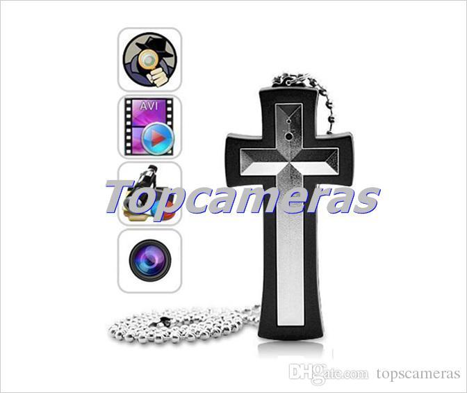 Ücretsiz kargo Çapraz Kolye Gözetim Kamera Video Kaydedici Mini Video Kaydedici Kamera, Vücut Aşınmış Kameralar Mini DV DVR