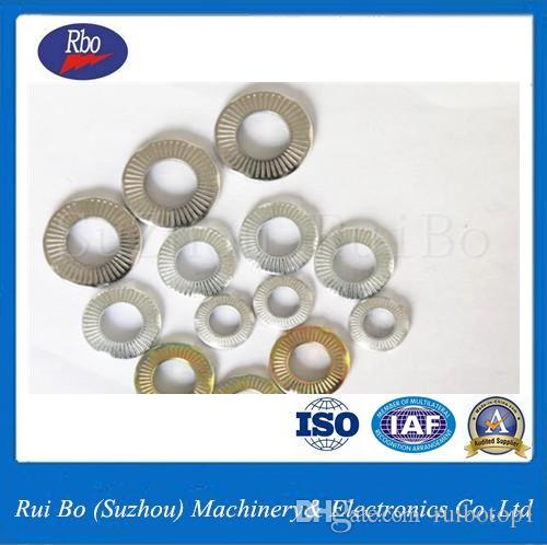 China Supplier Fastener Stainless Steel SN70093 Spring Lock Washer/Washers  with ISO M3 M3 5 M4 M5 M6 M7 M8 M10 M12 M14 M16 M20