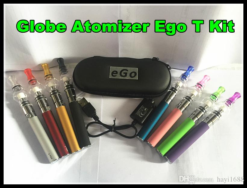 Dome Portable Vaporizer Portable Wax Vape Pen Discreet glass globe Waxy Oils Compact ego t Battery electronic cigarette vs ego ce4 DHL