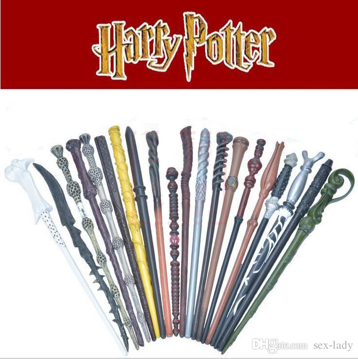Newest 25 Designs Harry Potter Magic Wand Lord Resin Wand Magical Stick Wand New In Box Cosplay Harrye Potters