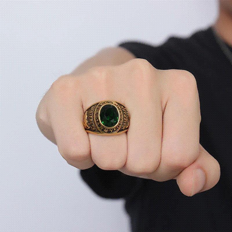 Milatu Largre Deluxe United States Army Military Ring For Men Boys ...