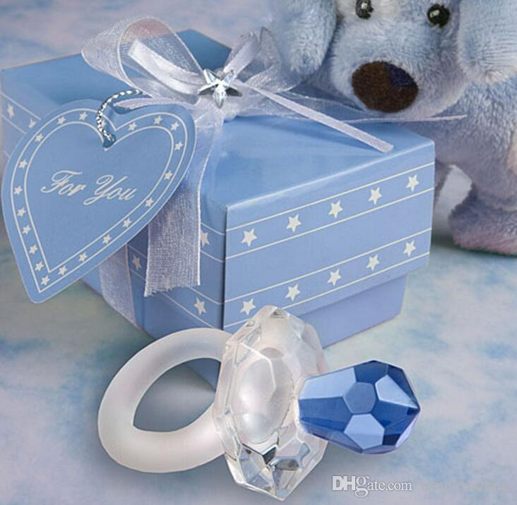 Chic Crystal Favors Baby Carriage Party Favors Gifts for Wedding Baby Shower Supplies DG12