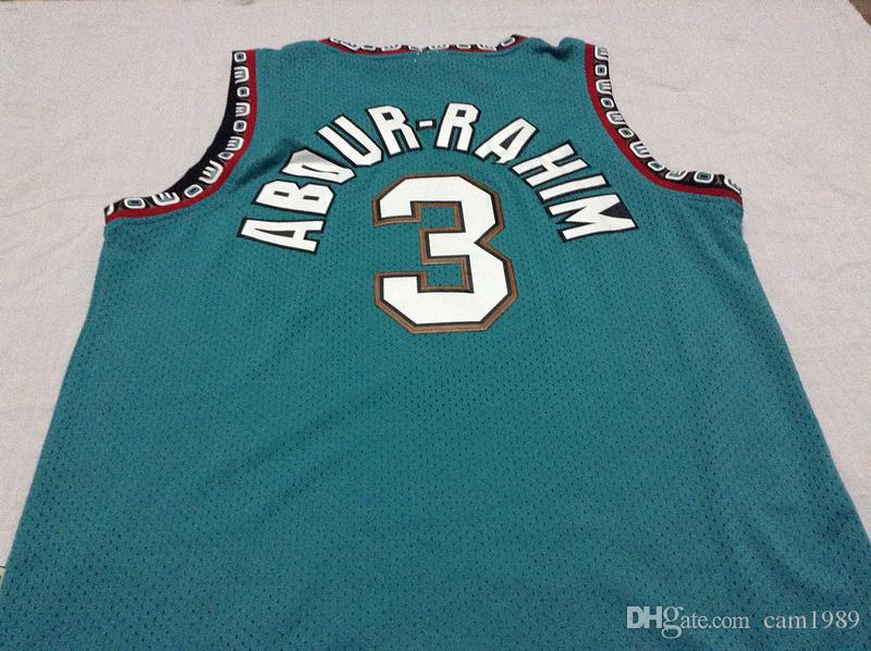87b455c138d ... 2017 3 Shareef Abdur Rahim Mens Jerseys Top Quality Size S Xxl Men  Sport Jersey From Basketball-Other 205 Atlanta Hawks Green ...