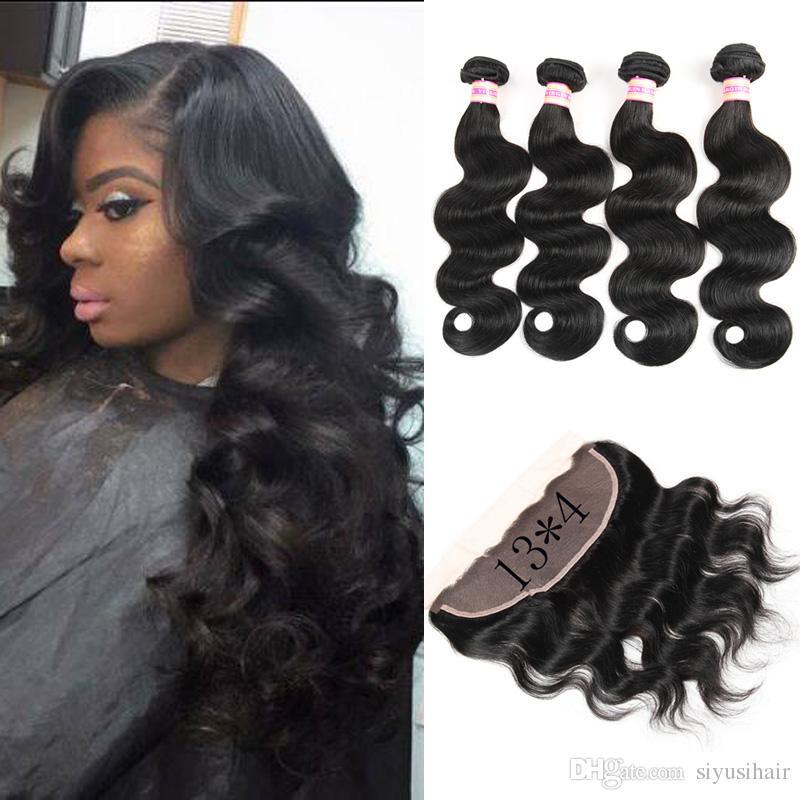Funmi 3 Bundles Mongolischen Afro Verworrenes Lockiges Haar Mit Verschluss 100% Reines Menschenhaar Bundles Mit Spitze Schließung Für Haar Salon Haarsalon Versorgungskette
