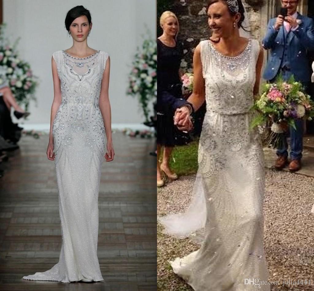 Gatsby Wedding Gown: Discount Great Gatsby Sparkly Crystal Shiny Garden Wedding