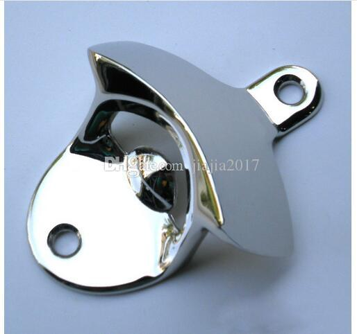 DHL fast shipping Hot Fashion Stainless Steel Wall Mount Bar Beer Soda Glass Cap Bottle Opener Kitchen Tool DHL FEDEX FREE