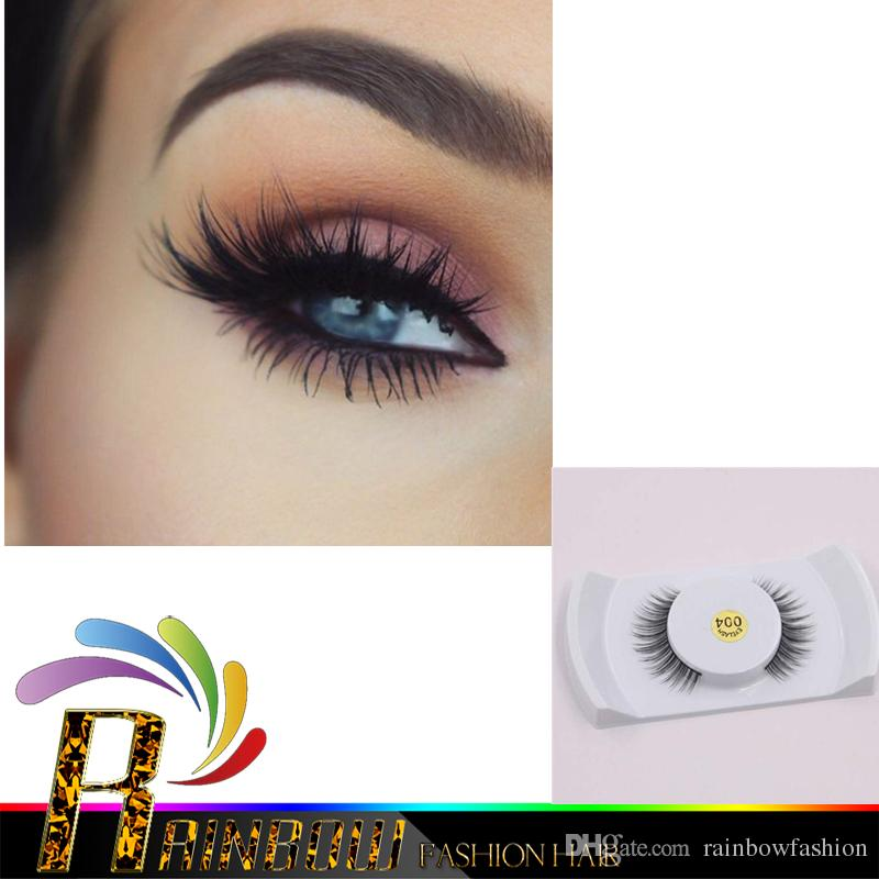 Good Price Real Mink False Eye Lashes Mink Individual Fake Eyelashes