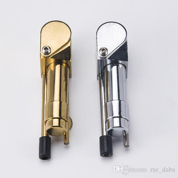 DHL Messing Proto Pfeife Metall Tragbare Pfeifen Goldene Farbe China Direct Ultimate Tool Tabaköl Herb Hidden Bowl bei Mr_Dabs