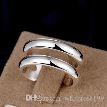 Großverkauf - Niedrigster Preis des Kleinhandels Weihnachtsgeschenk, freies Verschiffen, neuer 925 silberner Art und Weise Ring R38
