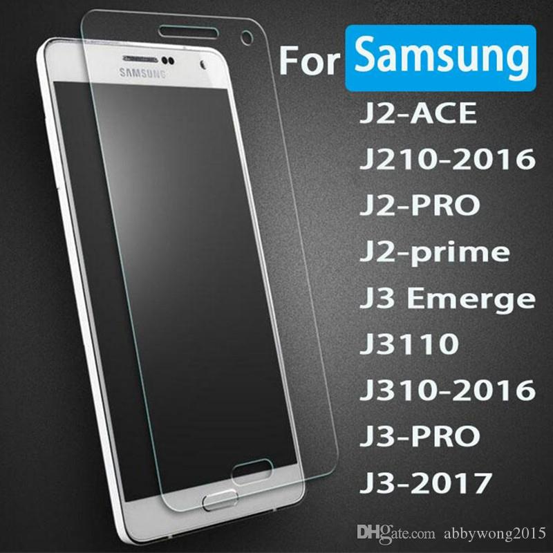 Tempered Glass For Samsung Galaxy J4 J6 J7 2017 A9 2018 A9s S7 S6 S8 S9 Plus Screen Protector 9H Hardness Anti Scratch A5 2018 A8 Plus 2018
