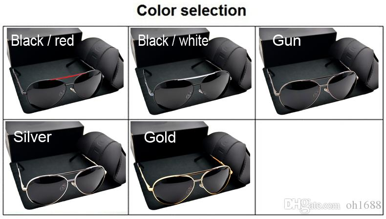Occhiali da sole Wome Occhiali da guida HD occhiali da sole polarizzati Designer di marca Outdoor Sport Occhiali da sole con protezione UV400 Retro tonalità 8580 Occhiali