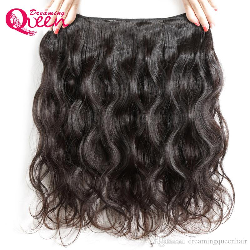 Body Wave Unprocessed 100% India Virgin Human Hair Extensions 3 Bundles With Silk Base Lace Closure Natural Hairline