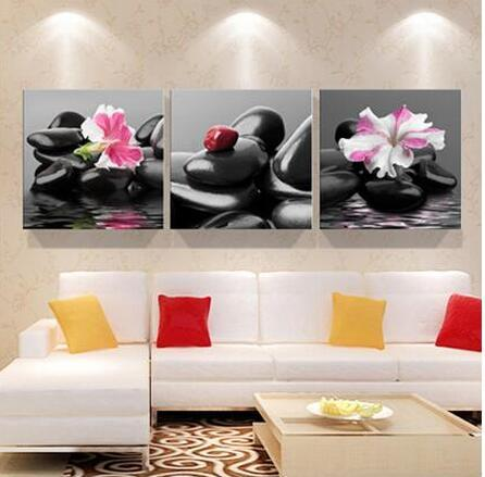 2019 3 panel red rose home decorative canvas painting living room rh dhgate com red rose home tuition red rose home ebbw vale