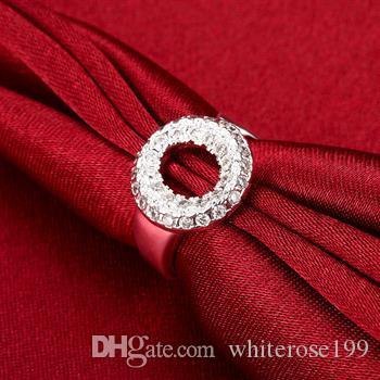 Wholesale  - 小売価格クリスマスプレゼント、送料無料、新しい925シルバーファッションリージー028