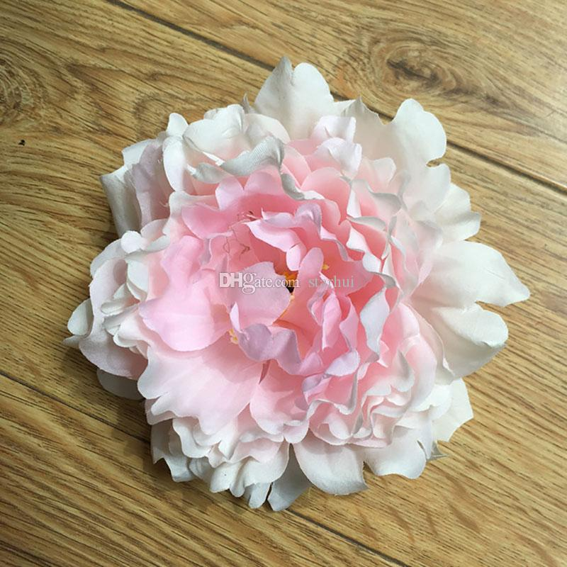 Artificial Flowers Silk Peony Flower Heads Wedding Party Decoration Supplies Simulation Fake Flower Head Home Decorations WX-C03