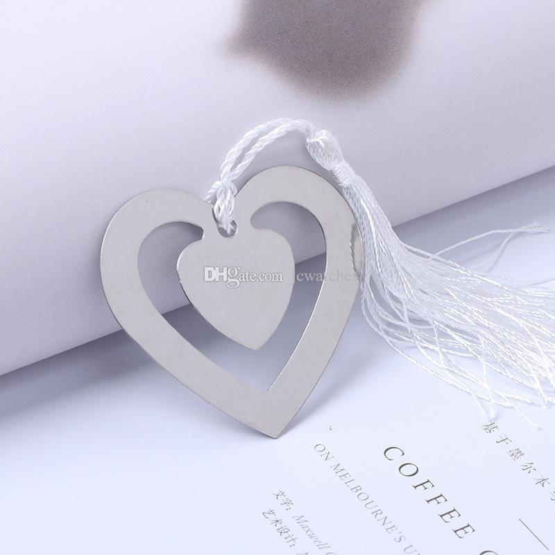 Mon coeur Signet Pour La Fête Garçon Fille Douche De Bébé Souvenirs Graduation Baptême Faveur De Mariage Et Cadeaux Pour Invité