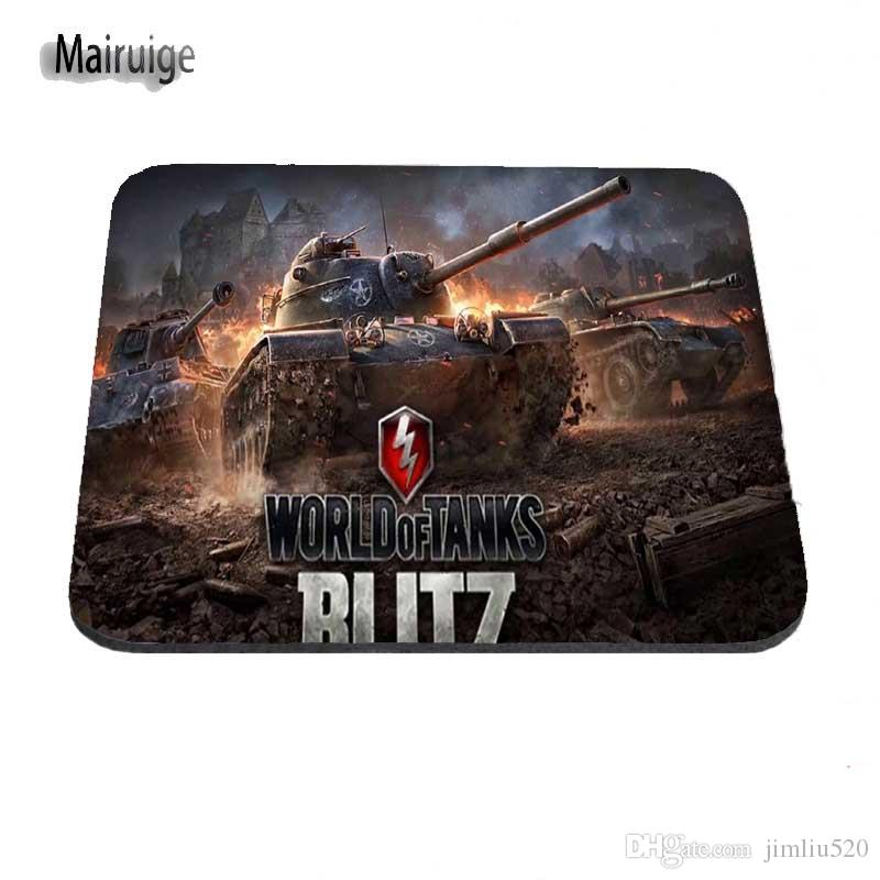 Hot 2017 World Of Tank Computer Gaming Mouse Pad Gamer Play Mats More Rubber Custom Size