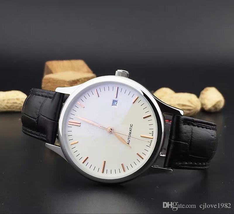Высокое качество современная мода круглый мужские наручные часы полностью автоматическая машина многофункциональный машина основные минералы носить красочные зеркало РГ