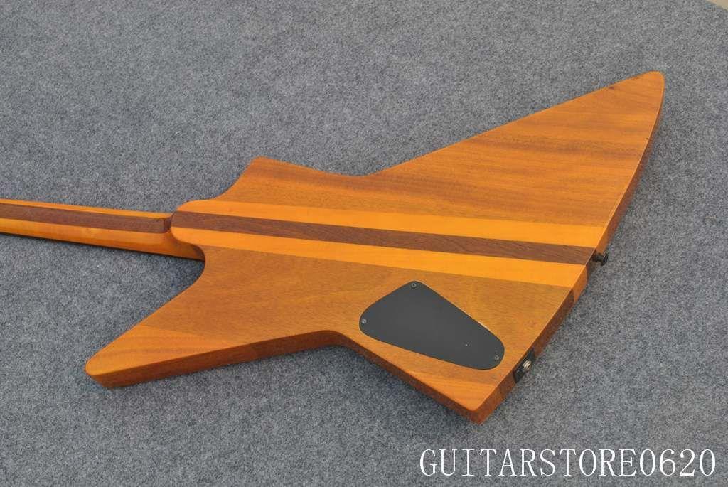 Фабрика пользовательские формы гитара груша дерево сэндвич дизайн Сделано в Китае бесплатная доставка