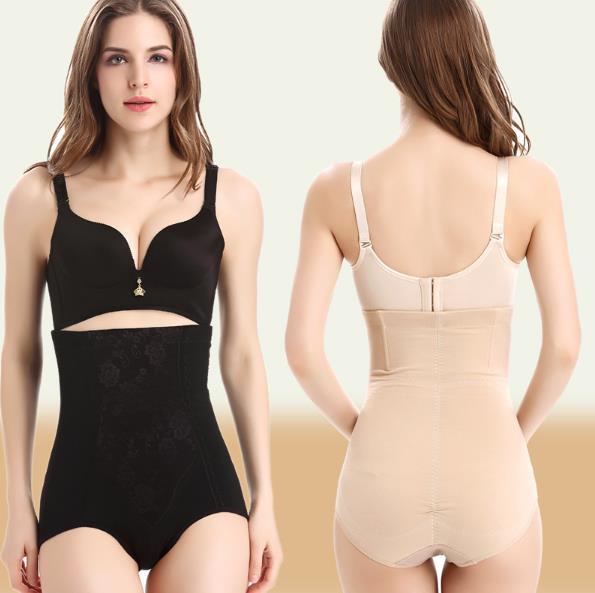 Women High Waist Shapewear Shorts Body Shaper Tummy Control Briefs Pants Women Cotton Body Slim Hot Underwear