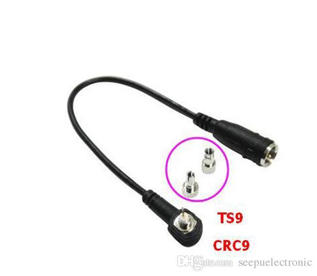 10 قطع الكثير fme إلى crc9 ts9 محوري rf موصل ذكر إلى ذكر محول FME-CRC9 / TS9 RG174 50omeb 20 سنتيمتر