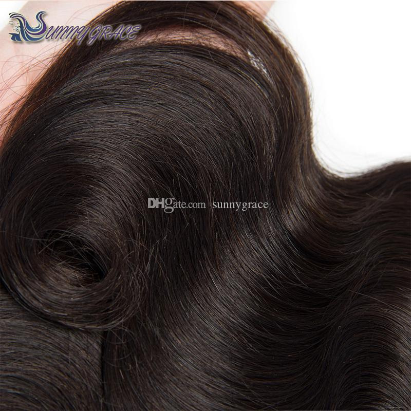 cheap loose wave Indian Virgin human hair weave from sunny grace hair product
