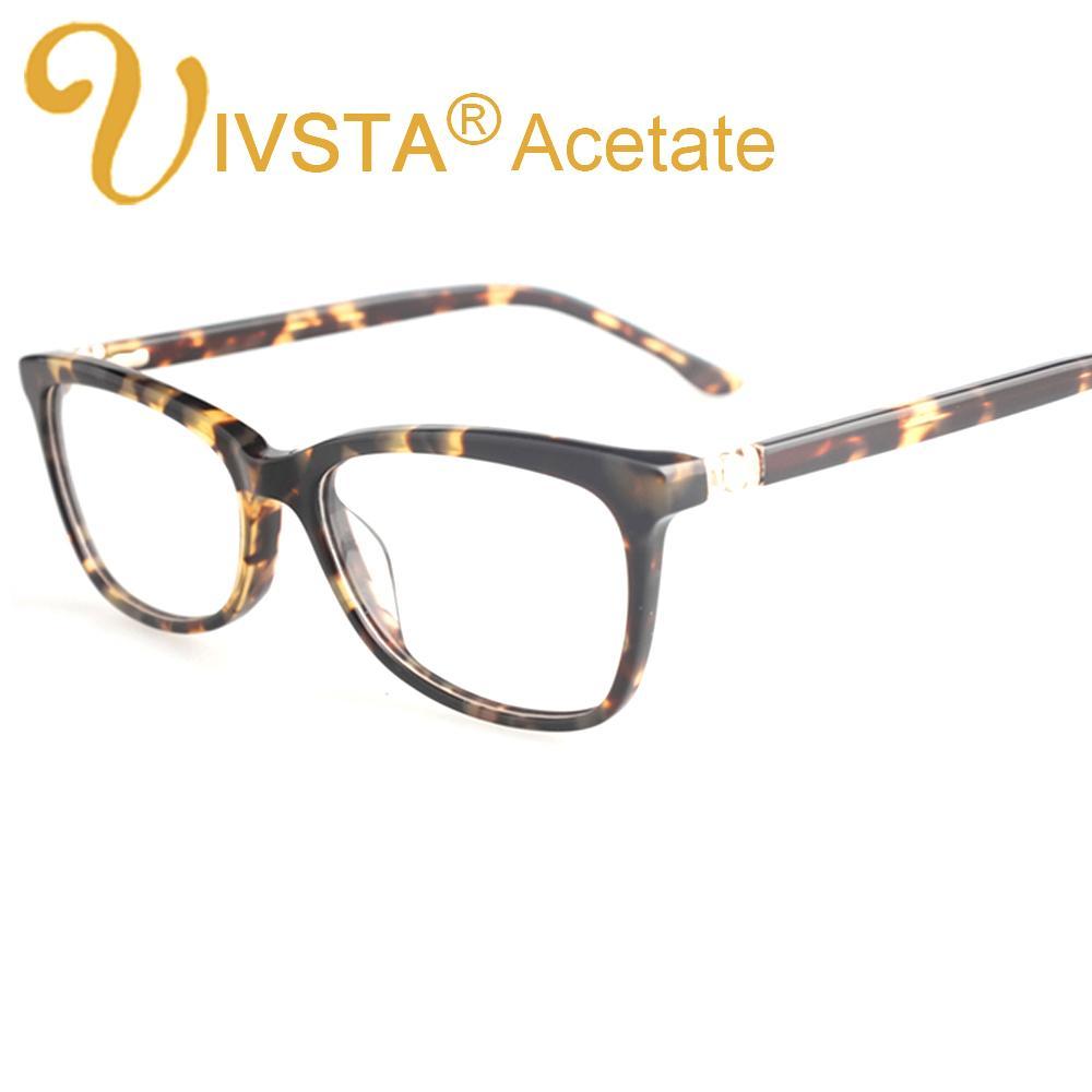 5467f9c254 Wholesale- IVSTA Real Handmade Acetate Glasses Women Optical Frame  Butterfly Really Acetate Frames Prescription Eyewear Myopia Diamond 8813  Womens Optics ...