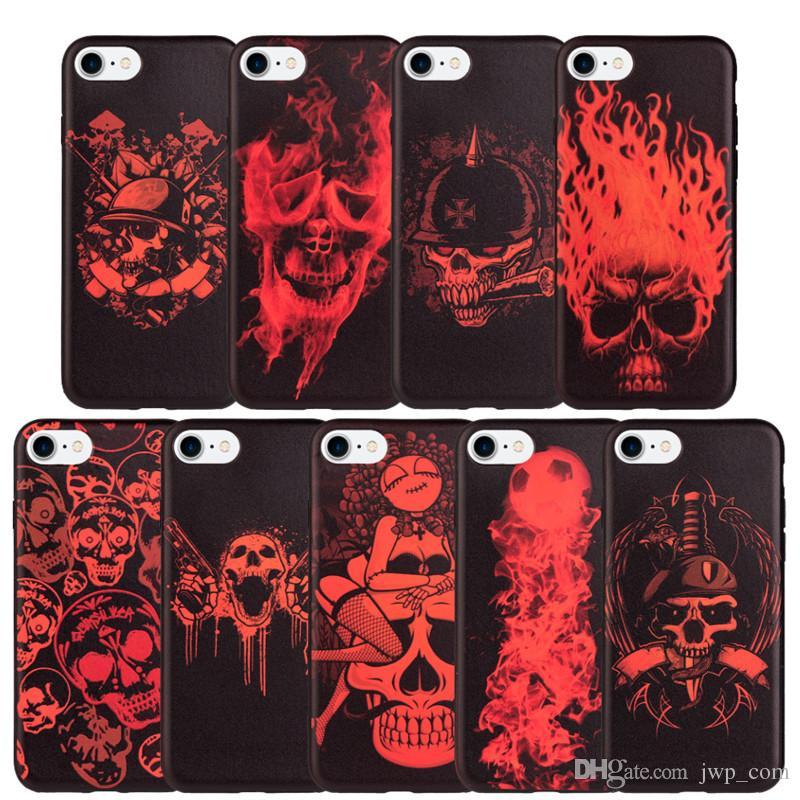 iphone 8 skull case