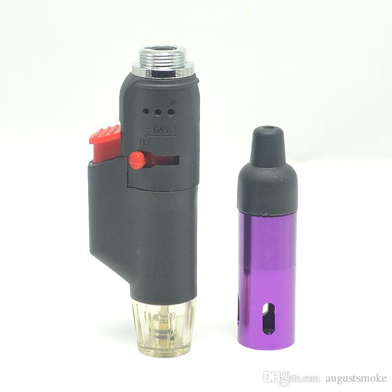 Click N Toke all In One Vaporizer gas Lighter Snake Vapes sneak a toke smoking metal lighter