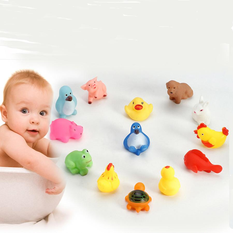 2018 Wholesale Baby Bath Toys Yellow Rubber Duck Kids Water Toys ...
