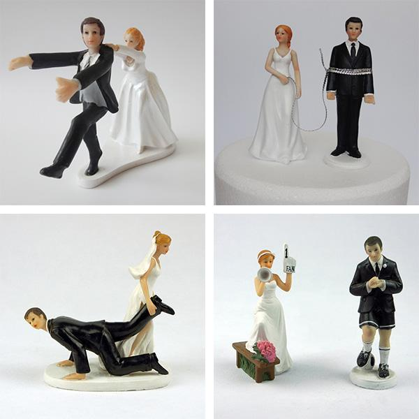 funny wedding cake figures 2018 awesome wedding cake tops drags groom 14568