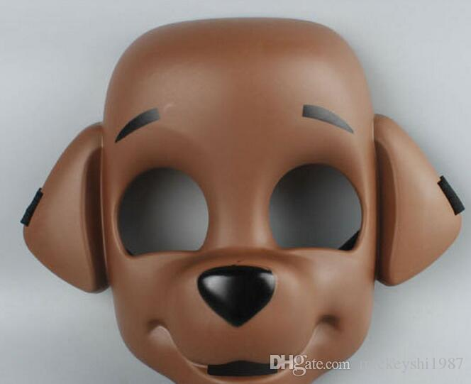 High Quality Hot Halloween Full Face Mask Christmas Day Musical Face Mask Dog Mask Halloween Party Boys And Girls Masks