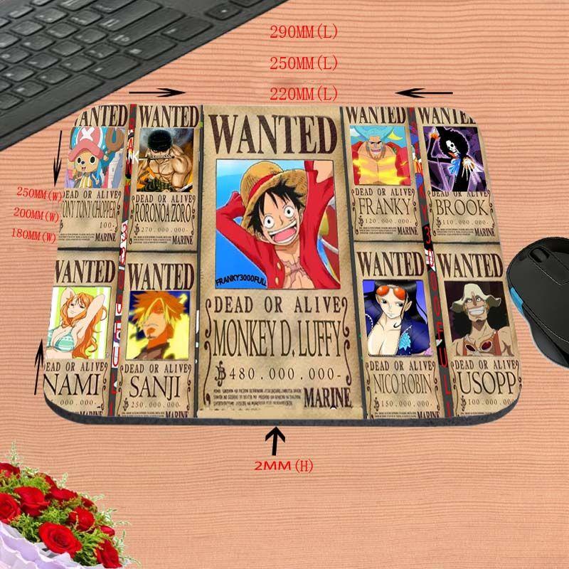 Los personajes de dibujos animados de diseño personalizado, almohadillas para mouse de computadora de alta definición, rectángulo de goma antideslizante decoran su escritorio, como un regalo