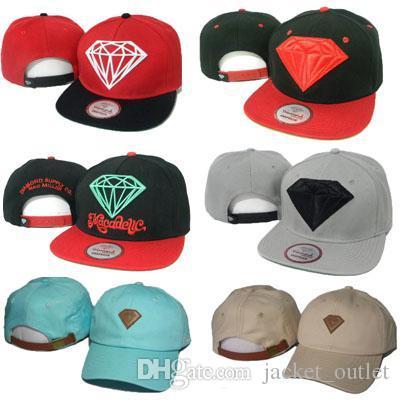Compre Diamond Snapbacks Sombrero Hombres Mujeres Diamantes Snapback  Amarillo Mac Miller Hip Hop Caps Gorras De Béisbol Snap Backs Mix Cheap  Wholesale A ... 5668c6e2a0b