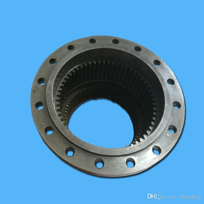 Hitachi John Deere Excavator EX100-1 EX120-1 Double Stage Gear Ring 58/69T 1010014 for Travel Gearbox Reducer Travel Motor Assembly
