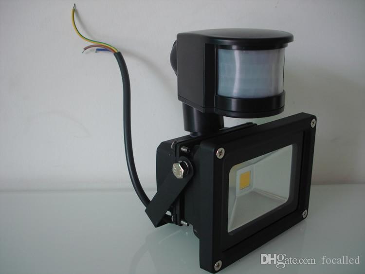 Waterproof IP65 10W 20W 30W 50W Led Flood lights Outdoor lighting Project Lamp LED Flood light 12V PIR Motion detective Sensor