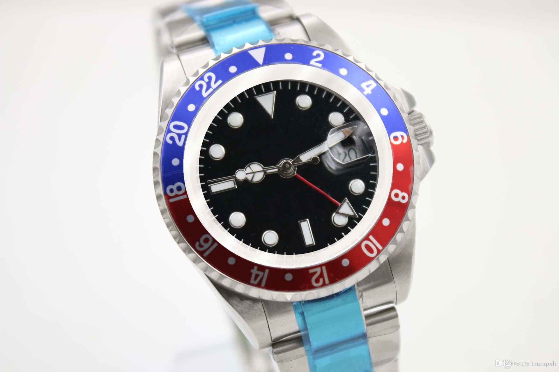 Luxury Mechanical Automatic Watches Men S Dive Watch For Man Black