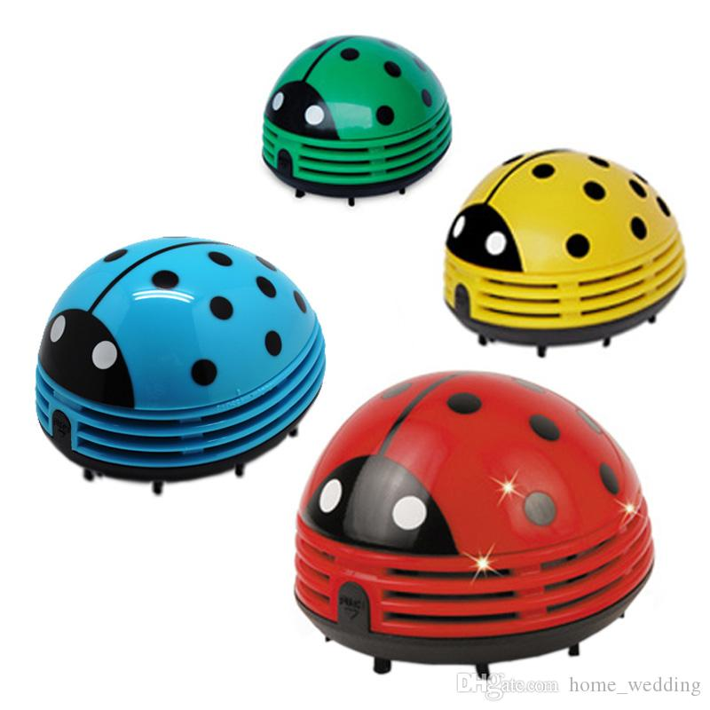 2018 Mini Ladybug Desktop Coffee Table Vacuum Cleaner Dust Collector For  Home Office From Home_wedding, $3.7 | Dhgate.Com