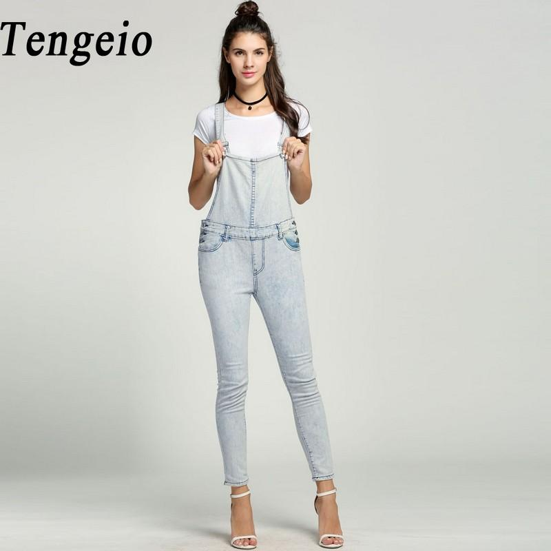 99bde3992f 2019 Tengeio Sexy Button Bodysuit Women Denim Overalls Jumpsuit Mujer  Bleached Skinny Casual Summer Salopette Jean Femme Rompers 615 From  Super003