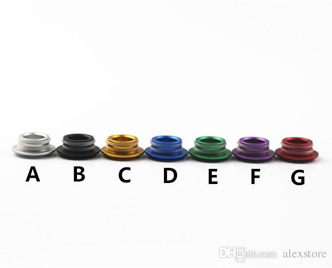 TFV8クラウドビーストタンクアトマイザーEタバコアルミニウムドリップチップコネクタ7彩色のための810~510アダプターTFV8~510アダプターマウスピース