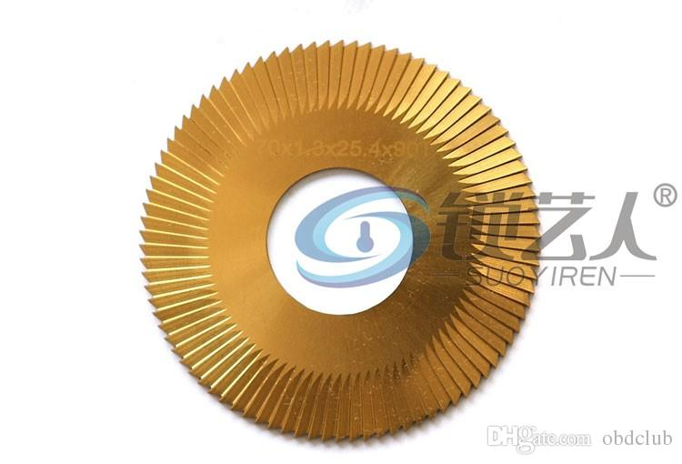 Raise speed steel coated titanium 3 surface 0022A milling cutter For WenXing Key Cutting Machine 100B,202,100A,100A1 locksmith