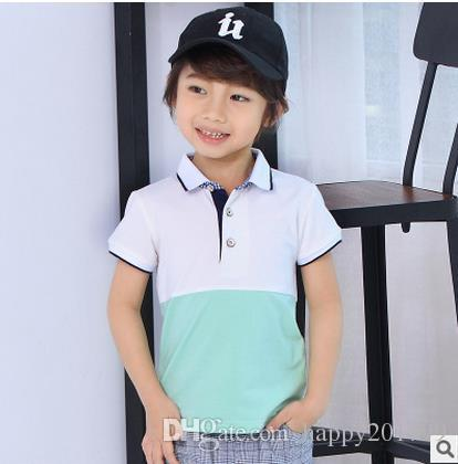 Best Hot Sale New Kids Polo Shirts Baby Boys Kid Tops T Shirt Summer