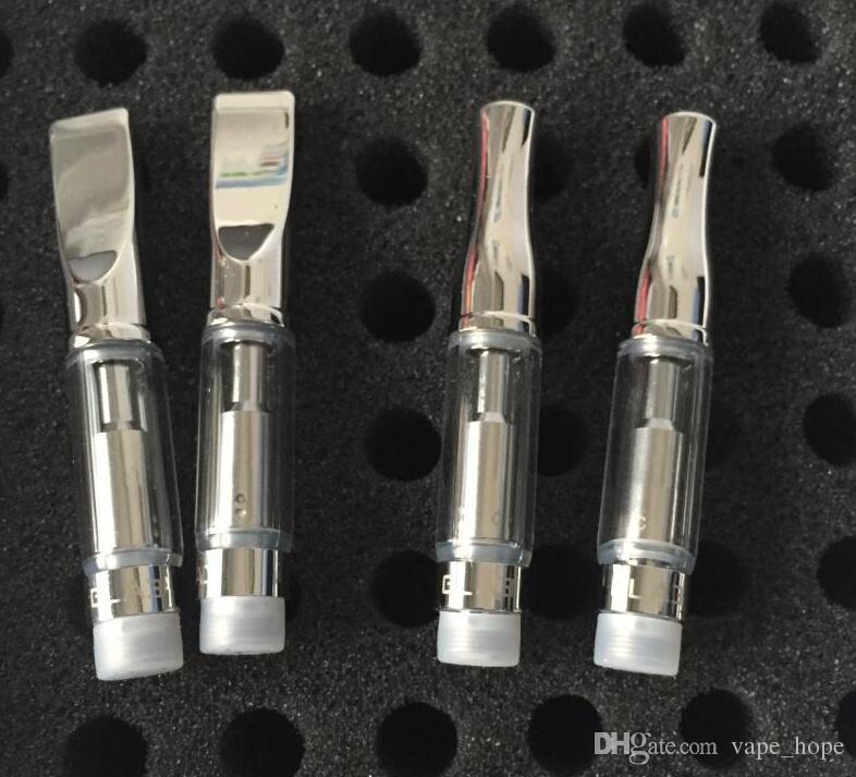 2017 christmas gifts e cigarette pyrex glass tank refillable atomizer vape cartridge GLA3 dual coil free sample