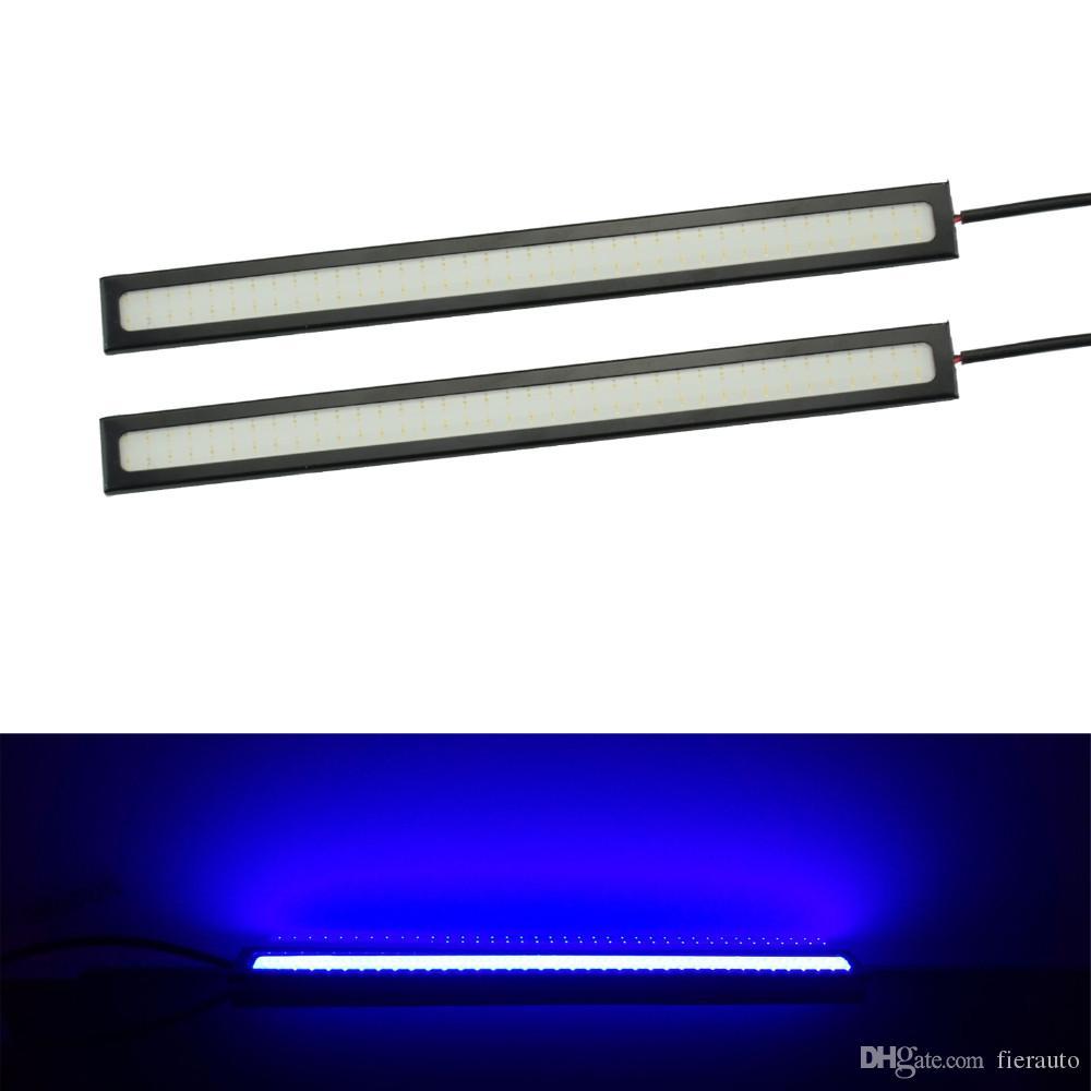 500 coppie 17 cm Chip COB ultra-sottile LED Drytime Light Light DRL Fog Auto Luci auto Styling Auto Giorno Giorno